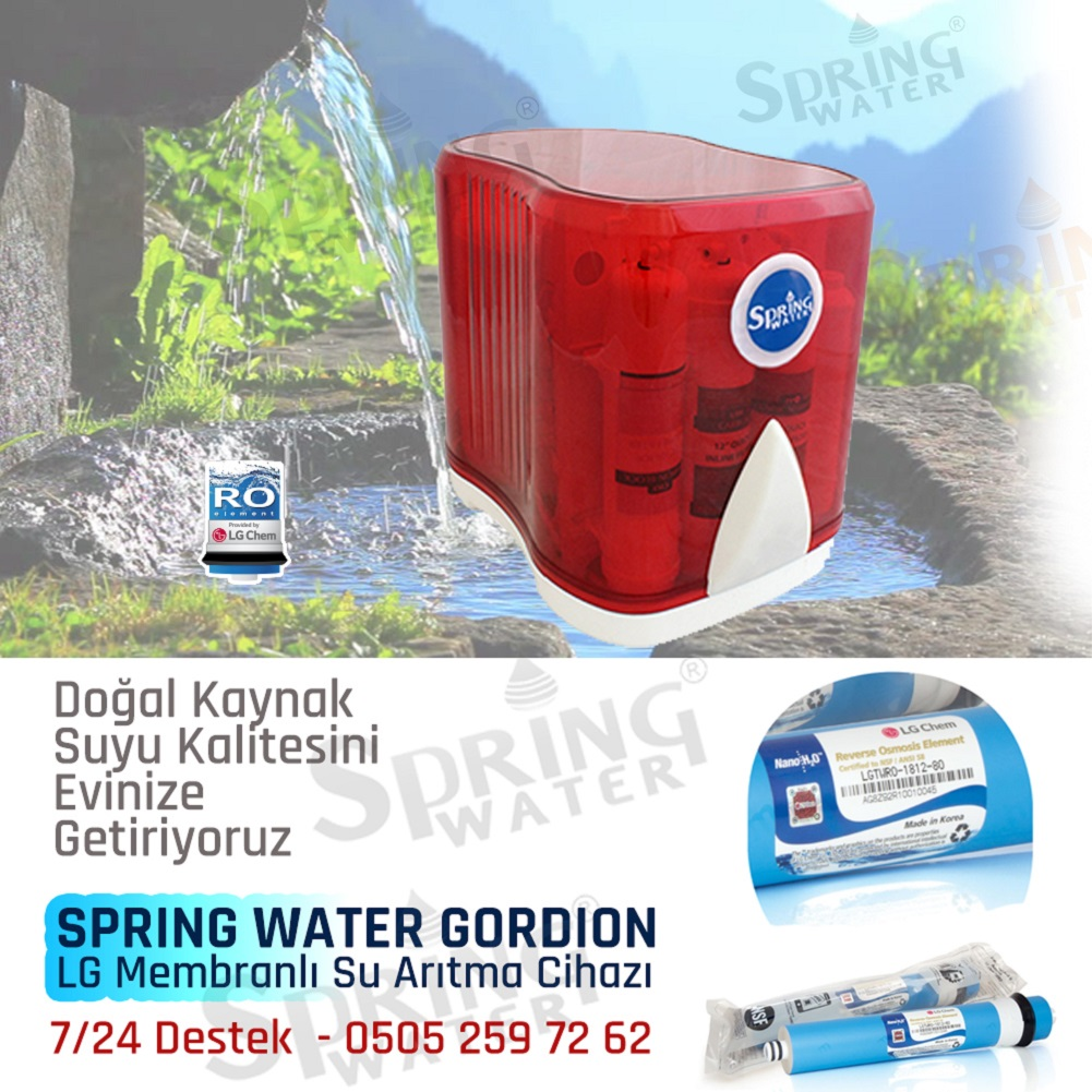 spring-water-gordion-su-aritma-cihazı